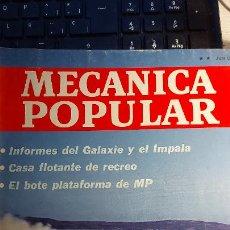 Coches: REVISTA MECANICA POPULAR JUNIO 1966. Lote 246892135