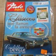 """Coches: REVISTA AUTO FOTO Nº 111 NOVIEMBRE 2005 """" MAGAZINE CLÁSICOS Y POPULARES """" """" LA REVISTA DE LOS AFIC. Lote 203926613"""