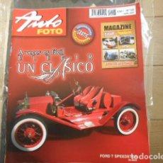 """Coches: REVISTA AUTO FOTO Nº 128 ABRIL 2007 """" MAGAZINE CLÁSICOS Y POPULARES """" """" LA REVISTA DE LOS AFICIONA. Lote 203926988"""