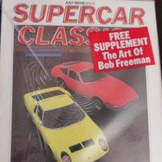 Carros: 1988 REVISTA SUPERCAR CLASSICS - MIURA VERSUS DAYTONA - MILLE MIGLIA REVISTA SELADA. Lote 249467955
