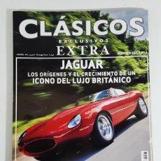 Carros: REVISTA CLASICOS EXCLUSIVOS EXTRA MONOGRAFICO Nº 7 JAGUAR. Lote 250179080