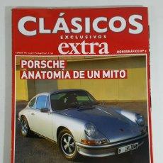 Carros: REVISTA CLASICOS EXCLUSIVOS EXTRA MONOGRAFICO Nº 2 PORSCHE ANATOMIA DE UN MITO. Lote 250179675