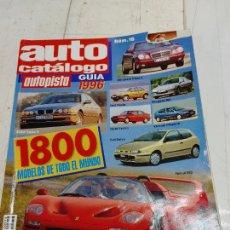 Coches: AUTOPISTA AUTO CATALOGO Nº 16 - AÑO 1996 - SEAT AUDI VOLVO CITROEN RENAULT FIAT JAGUAR ALFA FORD VW. Lote 253363230