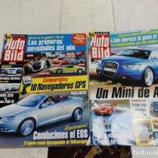 Coches: 2 REVISTA AUTO BILD Nº 9 Y 14 AÑO 2006 BUEN ESTADO. Lote 253363575