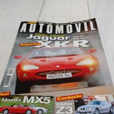 Coches: REVISTA AUTOMOVIL Nº 247 AÑO 1998. PRU: JAGUAR XKR. MAZDA MX5 1.6 Y 1.8. COMP: OPEL ASTRA SPORTIVE.. Lote 253363715