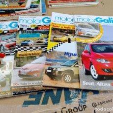 Coches: LOTE 4 REVISTAS MOTOR GALICIA Nº 6-12-27-29 AÑO 2004-06 INFORMACION DEL AUTOMOVIL Y RALLYS. Lote 253364430