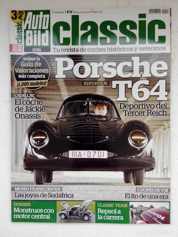 AUTO BILD CLASIC Nº 14 -PORSCHE T64 - BMW M1 - LOTUS SPRIT S2 - 205 TURBO 16 - PROSCHE 914 (Coches y Motocicletas Antiguas y Clásicas - Revistas de Coches)