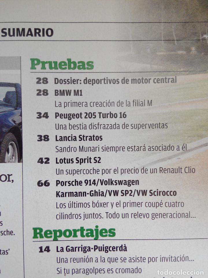 Coches: AUTO BILD CLASIC Nº 14 -PORSCHE T64 - BMW M1 - LOTUS SPRIT S2 - 205 TURBO 16 - PROSCHE 914 - Foto 2 - 253435735