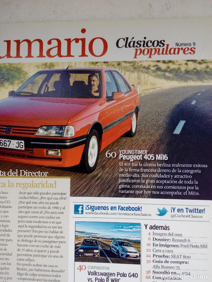 Coches: CLASICOS POPULARES Nº 9 -FOTO SUMARIO- RENAULT 6 - SEAT 800 - CITROEN DS - POLO G40 - Foto 4 - 253438005
