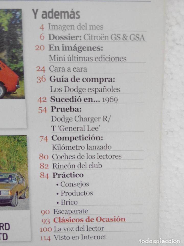 Coches: CLASICOS POPULARES Nº 6 -FOTO SUMARIO- SEAT 133 - DODGE CHARGER GENERAL LEE - CITROEN GS Y GSA - Foto 4 - 253438705