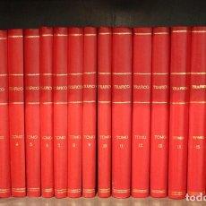 Coches: REVISTA DE TRAFICO, NUMEROS ENCUADERNADOS EN 17 TOMOS, JULIO 85/2009. Lote 253547665