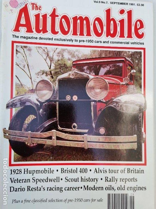 1991 REVISTA THE AUTOMOBILE - 1928 HUPMOBILE - BRISTOL 400 - ALVIS - RALLY REPORTS (Coches y Motocicletas Antiguas y Clásicas - Revistas de Coches)