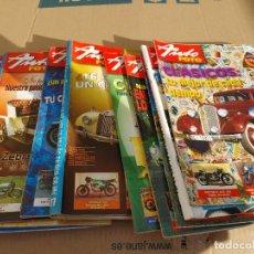 Carros: 12 REVISTAS AUTOMOVILES CLASICOS AUTO FOTO 2005 Nº 101-102-103-104-105-106-107-108-109-110-111-112. Lote 253575985