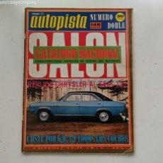 Coches: AUTOPISTA Nº 740-741 / 14 Y 21 DE ABRIL DE 1973 / REPLICA CHRYSLER AL SEAT 132. Lote 253813860