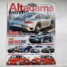 Coches: REVISTA ALTAGAMA - ALTA GAMA Nº 127 - FOTO SUMARIO-AUDI A4 3.0 TDI-BMW 330D TOURING-RANGE ROVER SPOR. Lote 253825960