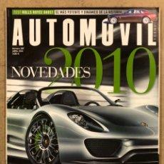 Coches: AUTOMÓVIL N° 387 (2010). FERRARI CALIFORNIA, JAGUAR XKR, PORSCHE 911 TURBO PDK,.... Lote 254594600