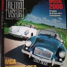Coches: 1999 REVISTA RETRO VISEUR - DOSSIER MATRA 530 - MGA - PORSCHE 356 - PEUGEOT 203. Lote 254595820