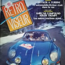 Coches: 1992 REVISTA RETRO VISEUR - DOSSIER RENAULT ALPINE A 110. Lote 254597840