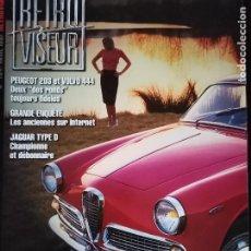 Coches: 1997 REVISTA RETRO VISEUR - DOSSIER ALFA GIULIETTA SPRINT - PEUGEOT 203 - VOLVO 444. Lote 254598320
