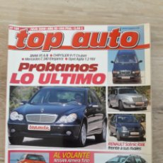 Coches: REVISTA TOP AUTO-N°129-AÑO 2000. Lote 254833935