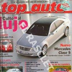 Coches: ANTIGÜA REVISTA -TOP AUTO - NUMERO 190 - AGOSTO 2005. Lote 255570245