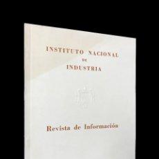 Coches: INSTITUTO NACIONAL DE INDUSTRIA // REVISTA DE INFORMACIÓN Nº 7 ENERO 1949. Lote 255933040