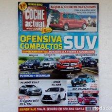 Coches: COCHE ACTUAL Nº 1330 AÑO 2014-OPEL MERIVA 1.6 CDTI-SUBARU OUTBACK 2.0 TD-AUDI Q3 1.4 TFSI-BMW X1 2.0. Lote 256043450