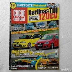 Coches: COCHE ACTUAL Nº 886 AÑO 2005-IBIZA CUPRA 1.8T-VW GOLF GTI 2.0 TFSI-NISSAN MURANO 235 CV. Lote 256069920