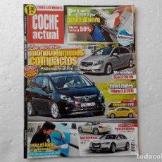 Coches: COCHE ACTUAL Nº 1224 AÑO 2012-VW BEETLE 1.2 TSI-105 DESIGN-ZAFIRA TOURER 2.0 CDTI-MB B200 CDI. Lote 256070830