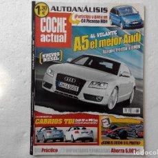 Coches: COCHE ACTUAL Nº 992 AÑO 2007 -AUDI CABRIO 2.0 TDI - VW EOS 2.0 TDI. Lote 256072235