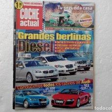 Coches: COCHE ACTUAL Nº 1145 AÑO 2010-BMW 530D - JAGUAR XF 3.0D - MERCEDES E350 CDI-PEUGEOT 5008 1.6 HDI. Lote 256074340