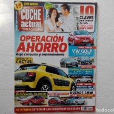 Coches: COCHE ACTUAL Nº 1321 AÑO 2014-VW GOLF 1.6 TDI 110 CV-FOTO SUMARIO. Lote 256075455