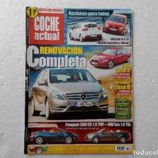 Coches: COCHE ACTUAL Nº 1212 AÑO 2011- PEUGEOT 308 CC 1.6 HTP- VW EOS 1.4 TSI- KIA RIO 1.2 CVVT Y 1.4 CRDI. Lote 257787830