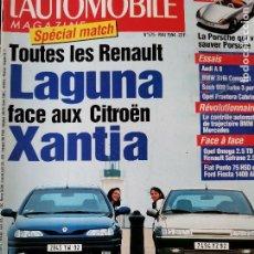 Coches: 1994 REVISTA L`AUTOMOBILE - CITROEN XANTIA - OPEL OMEGA - SAAB 900 - AUDI A8. Lote 257849715
