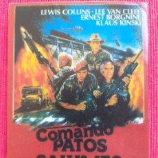 Coches: RECORTE DE REVISTA: COMANDO PATOS SALVAJES, LEWIS COLLINS, LEE VAN CLEEF. Lote 259267295