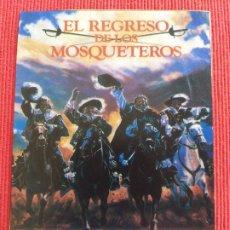 Coches: RECORTE DE REVISTA: EL REGRESO DE LOS MOSQUETEROS. MICHAEL YORK, OLIVER REED, FRANK FINLAY.. Lote 259281925