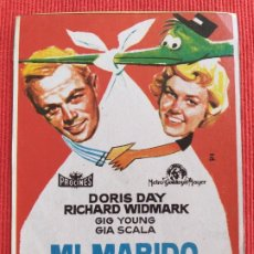 Coches: RECORTE DE REVISTA: MI MARIDO SE DIVIERTE. DORIS DAY. RICHARD WIDMARK. GENE KELLY. Lote 259282950