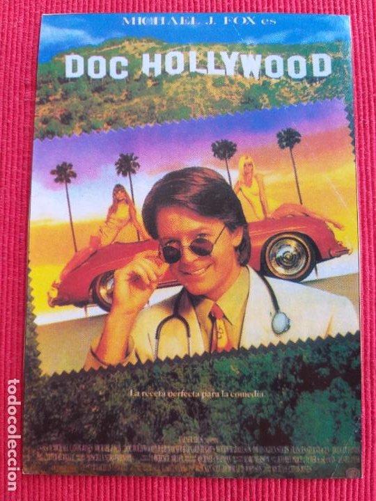 RECORTE DE REVISTA: DOC HOLLYWOOD. MICHAEL CATON, JONES MICHAEL J. FOX, JULIE WARNER, WOODY HARRELSO (Coches y Motocicletas Antiguas y Clásicas - Revistas de Coches)