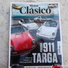 Auto: MOTOR CLASICO Nº 383, PORSCHE 911 TARGA, SEAT PANDA TERRA, CITROEN GSA, RENAULT 12, PACKARD,. Lote 261200275