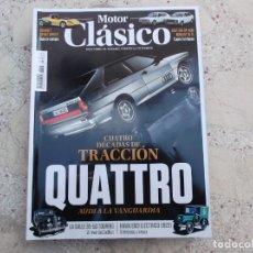 Auto: MOTOR CLASICO Nº 385, AUDI QUATTRO, RENAULT 15, SEAT 128, LA SALLE TOURING, HAWA EM3 ELECTRICO. Lote 261201110