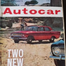 Coches: 1962 REVISTA AUTOCAR - ROAD TEST ZEPHYR 4. Lote 262295720