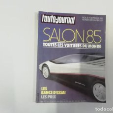 Coches: REVISTA AUTOMÓVIL - L'AUTO-JOURNAL - Nº 14 - SALON 1985. Lote 262858835
