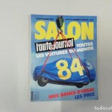 Coches: REVISTA AUTOMÓVIL - L'AUTO-JOURNAL - Nº 14/15 1983 - SALON 1984. Lote 262859095