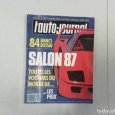 Coches: REVISTA AUTOMÓVIL - L'AUTO-JOURNAL - Nº 14/15 1987 - SALON 87. Lote 262859325