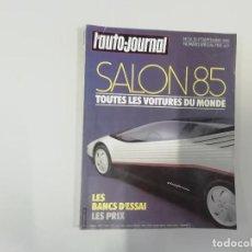 Coches: REVISTA AUTOMÓVIL - L'AUTO-JOURNAL - Nº 14/15 1985 - SALON 85. Lote 262859735