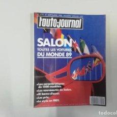 Coches: AUTOMÓVIL - L'AUTO-JOURNAL - Nº 14/15 1988 - SALON 89 - TODOS LOS COCHES DEL MUNDO 1989. Lote 262860280