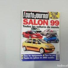 Coches: REVISTA AUTOMÓVIL - L'AUTO-JOURNAL - Nº 495 1998 - SALON 99 : TODOS LOS COCHES DEL MUNDO 1999. Lote 262860540