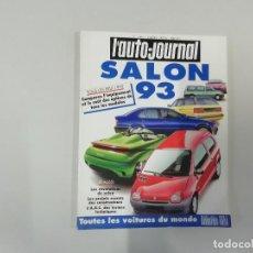Coches: REVISTA AUTOMÓVIL - L'AUTO-JOURNAL - Nº 14/15 1992 - SALON 93 : TODOS LOS COCHES DEL MUNDO 1993. Lote 262860765