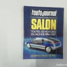 Coches: REVISTA AUTOMÓVIL - L'AUTO-JOURNAL - Nº 14/15 1986 - SALON : TODOS LOS COCHES DEL MUNDO 1986/1987. Lote 262861395