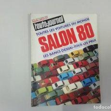 Coches: REVISTA AUTOMÓVIL - L'AUTO-JOURNAL - Nº 14/15 1980 - SALON 80 : TODOS LOS COCHES DEL MUNDO. Lote 262861610